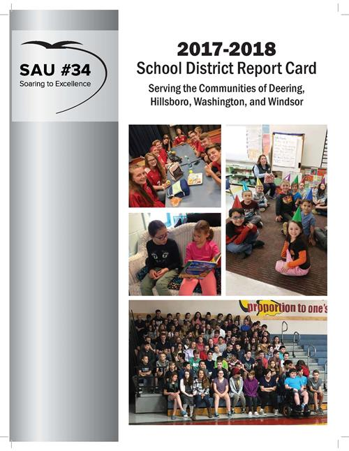 2017-18 school district report card cover