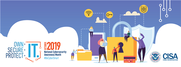 Nation cyber security month 2019 banner